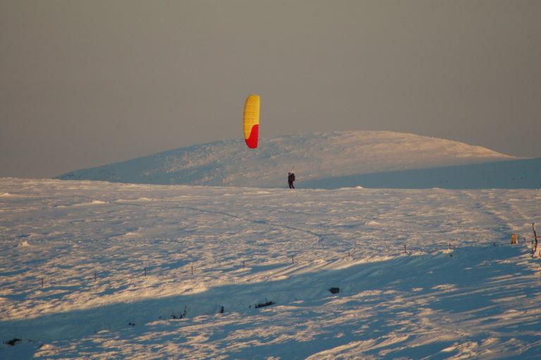 Snowkiting 37