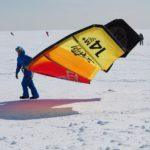 Snowkiting 22