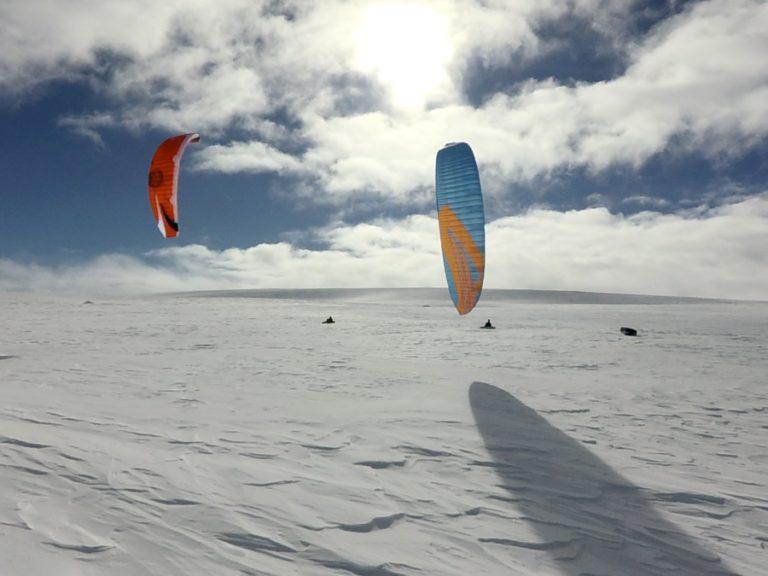 Snowkiting 36