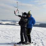 Snowkiting 4