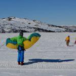 Snowkiting 1