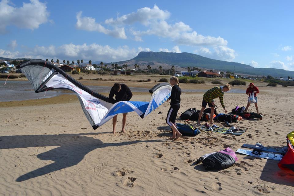 Tarifa - kitesurfing trip 5